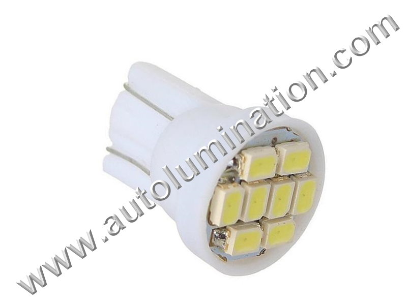 8Star 8SMD 1210 Bulb Instrument Panel Gauge Colored Led Bulbs Lights Lamps