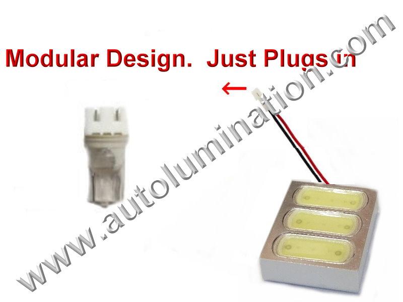 Array 6Watt Bulb Instrument Panel Gauge Colored Led Bulbs Lights Lamps
