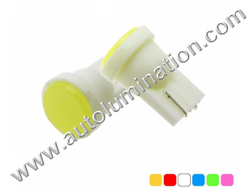 COB Bulb Instrument Panel Gauge Colored Led Bulbs Lights Lamps