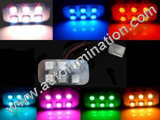 Color Selectable Bulb Instrument Panel Gauge Colored Led Bulbs Lights Lamps