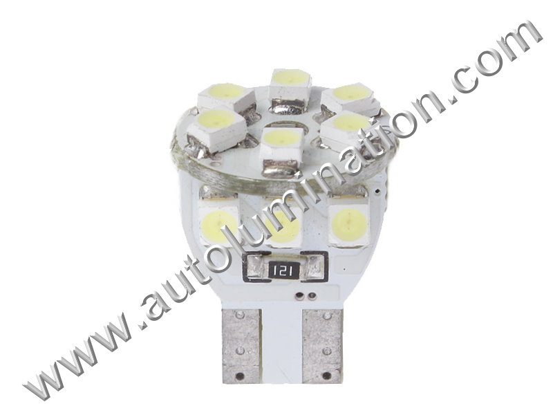 Fatboy 12SMD 1210 Canbus Bulb Instrument Panel Gauge Colored Led Bulbs Lights Lamps