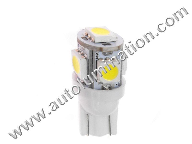 SMT I 5SMD 5050 Bulb Instrument Panel Gauge Colored Led Bulbs Lights Lamps