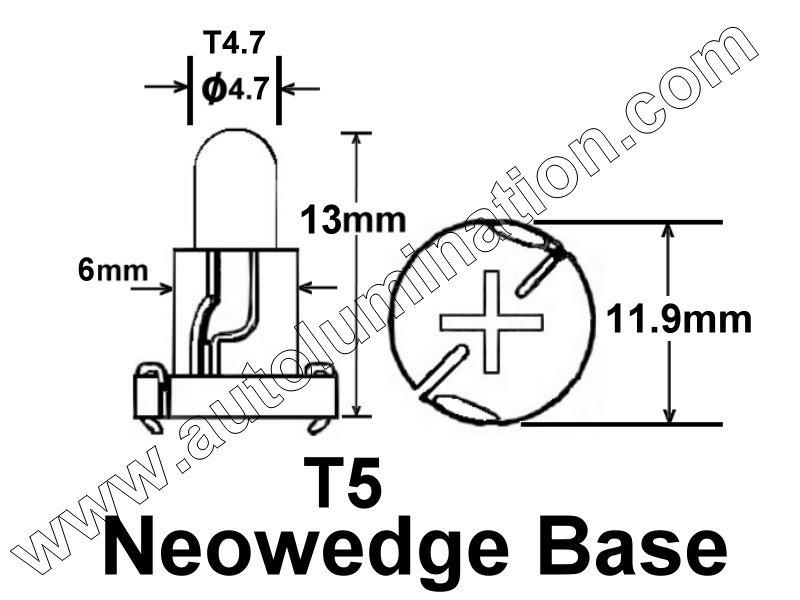 Neowedge,Type C (T5),T4.7,5019519-AA