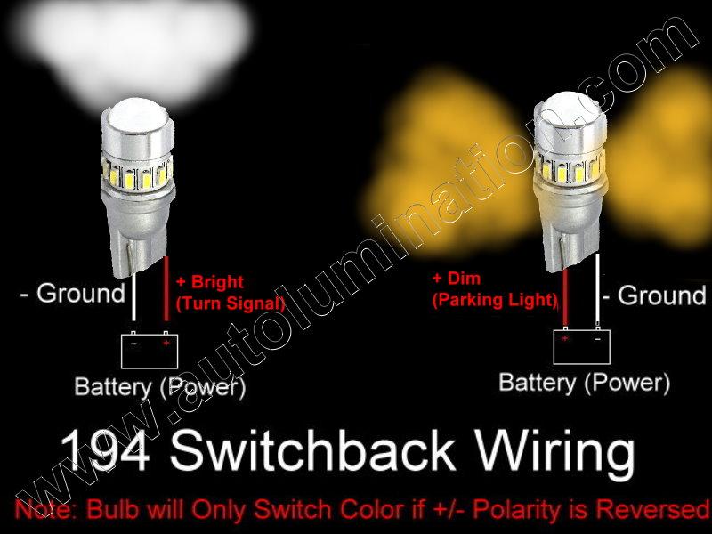Autolumination 194 Switchback 18smd 3014 Bulb T10 Wedge