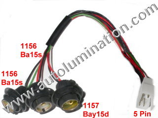 1156_1157_tail_light_harness_wm automotive car truck light bulb connectors sockets wiring Creating a Wire Harness at bayanpartner.co