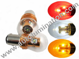24 Watt Cree Osram Bay15d Base Replaces 352 1154 1130 1493 888 Ba15s Base 1680 1129 1619 87 Tail Light Turn Signal Bulb Red White Amber