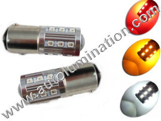 22led 2835 1157 Dual Circuit 1034 1076 1077 1154 1158 2057 2357 2397 7528 Tail Light Turn Signal Bulb