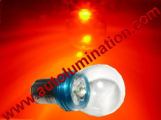 Ba15s Base Replaces 1680 1129 1619 87 6 Volt - Negative Ground or + Positive Ground  Led 10 Watt Cree Tail Light Bulb