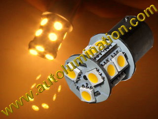 1156 1157 2057 Wagner 17916  P21w P21w 4w Warm White 13 Led Bulb