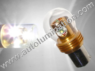 24 Watt Cree 1156 1016 1034 1076 1077 1130 1154 1158 1493 2057 2357 2397 7528 2F2112011 Wagner Tail Light Reverse Back Up Turn Signal Bulb