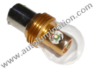 24 Watt Cree Osram Bay15d Base Replaces 352 1154 1130 1493 888 Ba15s Base 1680 1129 1619 87 Tail Light Turn Signal Bulb