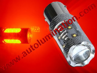 1157 80w Red Braker Flashing Led Brake Light