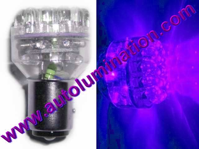 1157 (Dual Circuit) = 1016 1034 1076 1077 1130 1154 1158 1493 2057 2357 2397 7528 Purple 32 led bulb