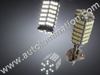 H1 P14.5s 120 Led Headlight Bulb Running Fog Light