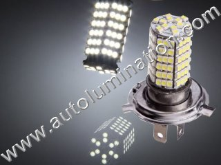 H4 9003 P43 120 Led Headlight Bulb Running Fog Light