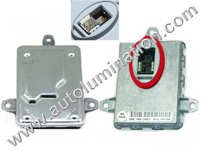 Ballast 12v 35 Watt HID OEM PN: Bosch130732931201