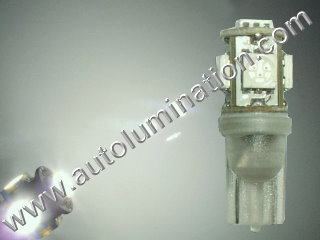194 161 168 158 W5W 2825 6000K White Led Bulb