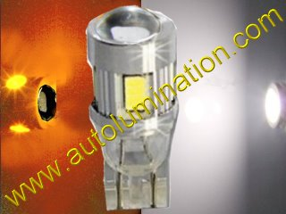 2825 194 161 168 Switchback White Amber led Bulb