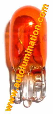 194 161 168 158 W5W 2825 Bulb Amber