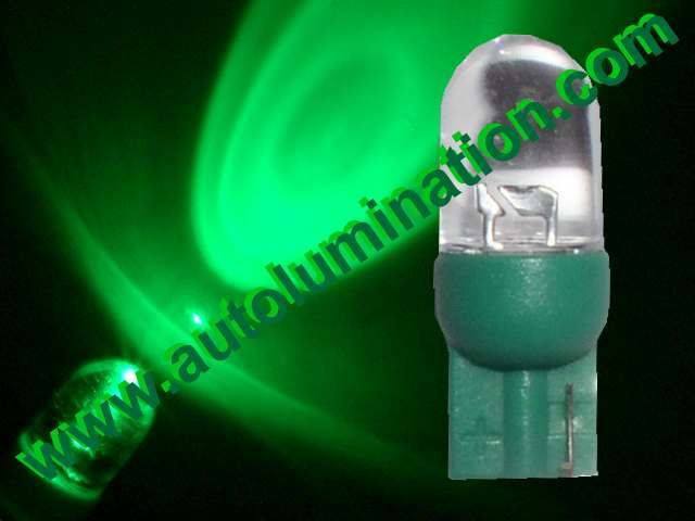 147 259 285 447 555 Bulb Green LED 6 Volt Pinball