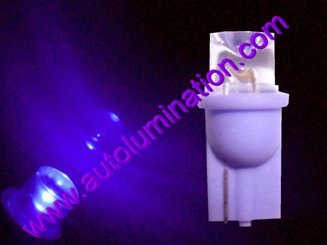 147 259 285 447 555 Bulb Purple LED 6 Volt Pinball