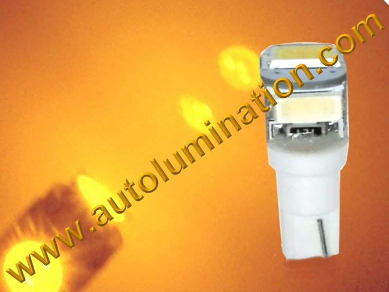 Wedge T5 T5.5 Samsung led Neowdge  bulbs LED Bulbs Amber