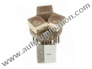 24 T6.5 T6-1.2 T2-1/4 3LED 3528 Bulbs Matrix led bulbs