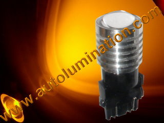 3047 3057 3155 3156 3157 3157LL 3357 3454 3457 3757 4057 4114 4114LL 4114K 4157 4157LL  Led 5 watt cree Amber Turn Signal Light Bulb