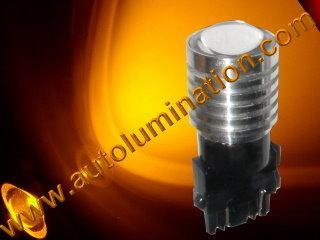 3047 3057 3155 3156 3157 3157LL 3357 3454 3457 3757 4057 4114 4114LL 4114K 4157 4157LL  Led 5 watt cree Amber Turn Signal Light Bulb