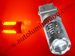 3157  80w Red Braker Flashing Led Brake Light