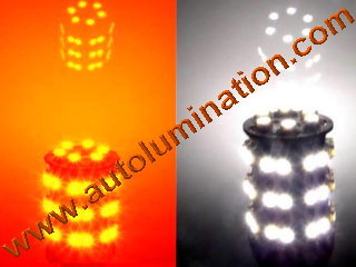 3157 combination orange white led Switchback bulb