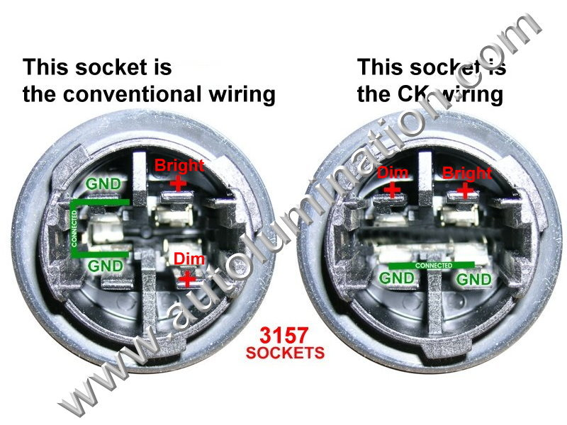 3157_socket_wiring_wm autolumination 3156 3157 4157 selection, troubleshooting and light bulb socket wiring diagram at readyjetset.co