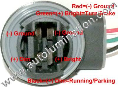 automotive car truck light bulb connectors sockets wiring 3157 type 2 pigtail bulb socket connector wiring plan