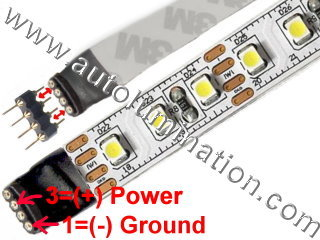 3528 LED Strip IP20 120 LED/M
