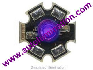 Luxeon Led 3 Watt High Powered Star Cree Purple