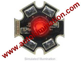 Luxeon Led 3 Watt High Powered Star Cree Red