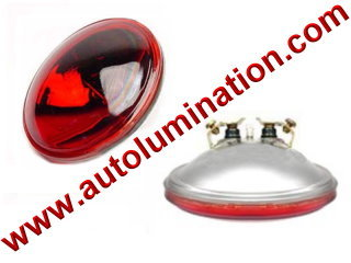 4416r #4416 4416-r Red (12.8V/30W) PAR36 - 12.8 Volt 30 Watt PAR36 Sealed Beam, Multi-Purpose (Slip-On and Screw Terminal) Base 4-1/2 Sylvania Wagner