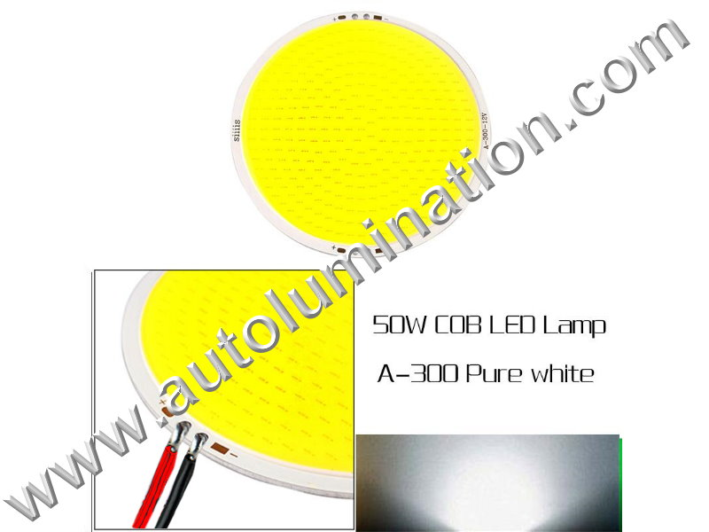 50 watt COB LED Board 110mm Cool White