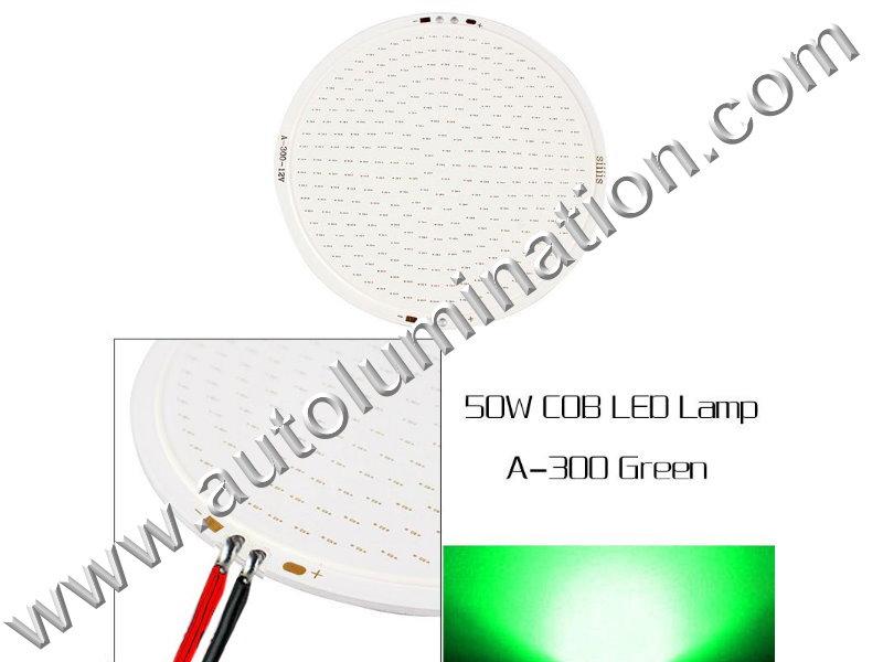 50 watt COB LED Board 110mm Green