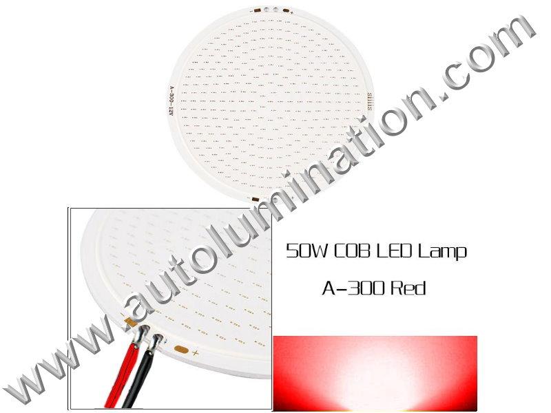 50 watt COB LED Board 110mm Red