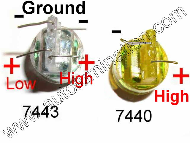 Autolumination Explanation Of Difference Between 7443 3157 And 3157 Ck Srck Led Bulbs
