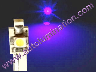 74 37 2721 T5 3528 Matrix Purple led bulbs LED Bulbs