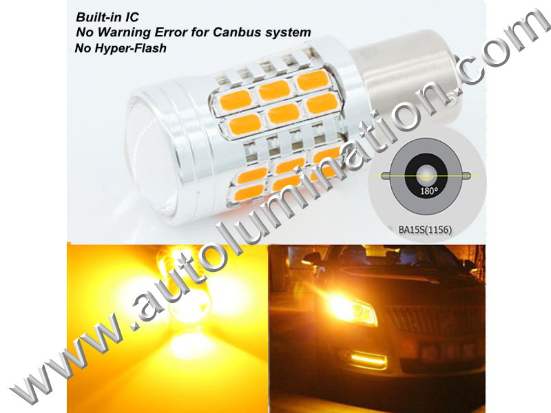 No Hyper Flash 7506 P21W Ba15s Tail Light Turn Signal Bulb