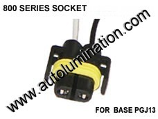 890 893 899 Headlight Socket Pigtail