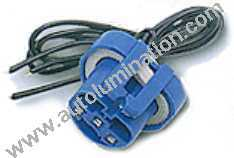 9004 P29t HB1 Female Socket Pigtail Connector Wire