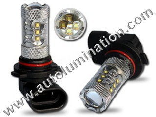 9005 P20d HB3A 6000K Super White LED 80 Watt Cree High Powered Headlight Bulb