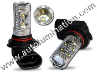 H9 PGJ19-5 6000K Super White 50 Watt Osram LED High Powered Headlight Bulb