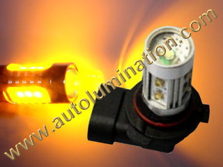 9005 P20d HB3A 25 27 Amber Watt Osram LEDHigh Powered Headlight Bulb