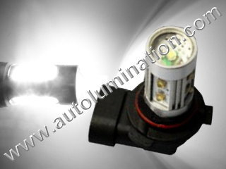 9006 P22d HB4 6000K Super White LED 12 Watt High Powered Headlight Bulb
