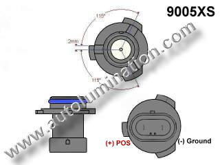 9005xs Headlight Socket Plug Base